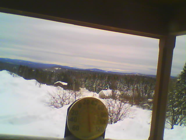 Pittsburg NH Webcam - Author Scott Rd.