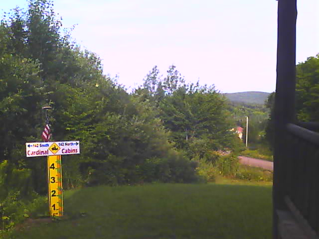 Pittsburg NH Webcam - Cardinal Drive - www.CardinalCabins.com